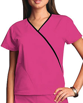 shocking pink scrubs