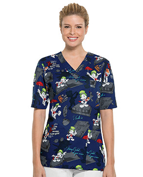 cartoon scrub tops