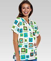 dental printed scrubs