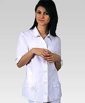 dental white scrubs