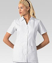 white nursing scrub tops