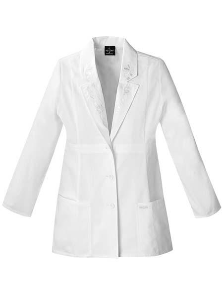 Buy Baby Phat White Embroidered Ladies Medical Lab Coat