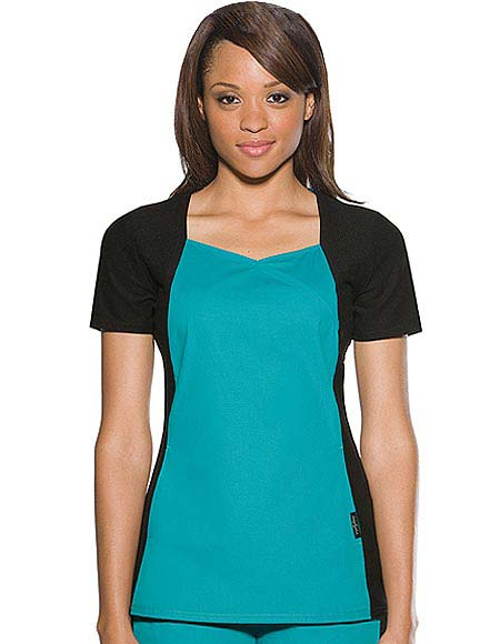 Buy Baby Phat Women Sweetheart Neckline Nurse Scrub Top