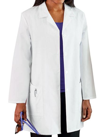 Meta 15009 Women's Five Pocket 35 inch Long Medical Lab Coat