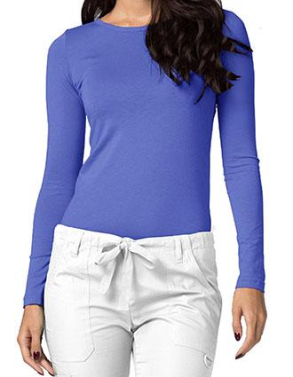 Adar Universal Women's Classic Fit Long Sleeve Comfort Tee
