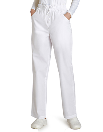Adar Women Mock Fly Medical Scrub Pant-AD-501