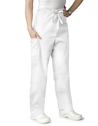Adar Unisex Double Pocket Tall Drawstring Scrub Pants