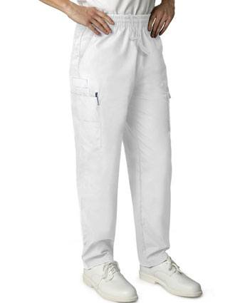Adar Universal Basic Women's Natural-Rise Multi pocket Cargo Tapered Leg Pants Twill
