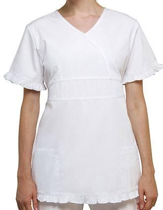 Adar Women Two Pockets Baby Doll Scrub Uniforms