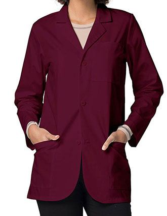Adar 31 Inches Classic Three Pocket Unisex Consultation Coat-AD-805
