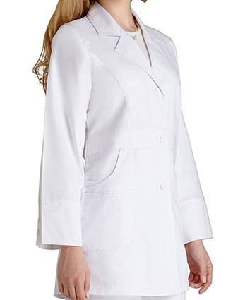 Adar Women 32-Inch Perfection White Medical Lab Coat-AD-811