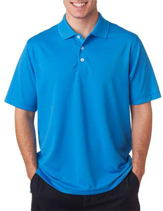 A170 Adidas Men's ClimaLite Solid Polo
