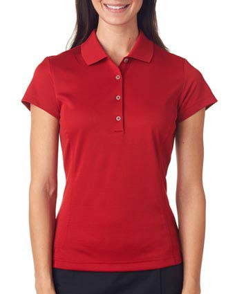 A171 Adidas Ladies' ClimaLite Solid Polo-AD-A171