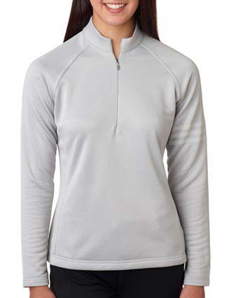 Adidas Ladies' Performance Half-Zip Training Top-AD-A175