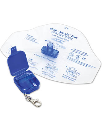 ADC EMS Products Unisex Adsafe Face Shield Plus With Keychain