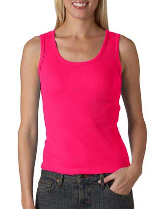 2415 Anvil Ladies' 2x1 Rib Tank Top-AN-2415