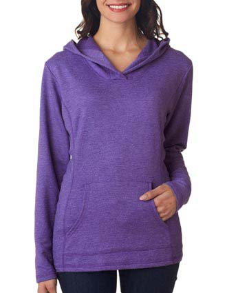 72500L Anvil Ladies' Hooded French Terry Fleece-AN-72500L