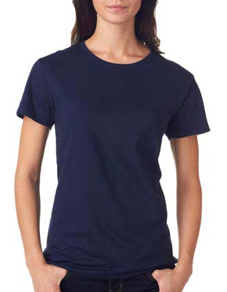 780L Anvil Ladies' Midweight Mid-Scoop Cotton Tee-AN-780L