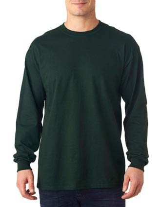 Anvil Adult Midweight Long-Sleeve Cotton Tee