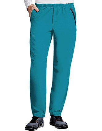Barco One Men 7 Pockets Elastic Waist Cargo Scrub Pant