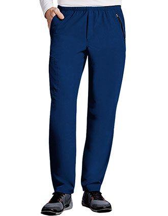 Barco One Men 7 Pockets Elastic Waist Tall Scrub Pant