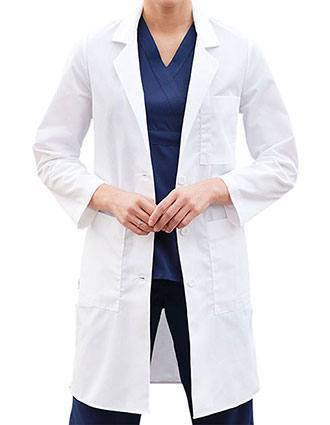 Barco Prima Women 38 inch Five Pocket Medical Lab Coat-BA-1343