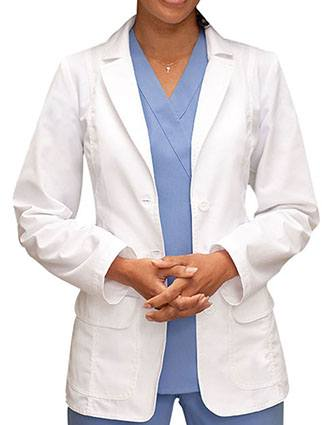 Barco Prima Women 28 Inches Two Flapped Pocket Medical Lab Coat-BA-4412