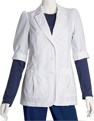 Barco Women 28 inch Short Sleeve Medical Lab Coat-BA-4414