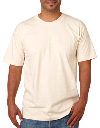 5040 Bayside Adult Short-Sleeve Cotton Tee-BA-5040