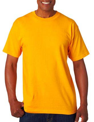 Bayside Adult Short-Sleeve Cotton Tee-BA-5100
