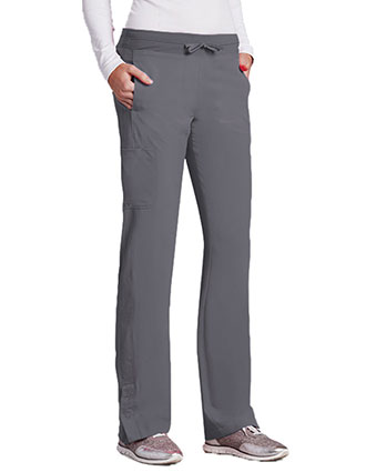 Barco One Women Tall Waistband Cargo Track Scrub Pant