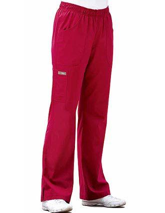 Barco ICU Missy Fit Logo Elastic Waist Scrub Pants-BA-7251