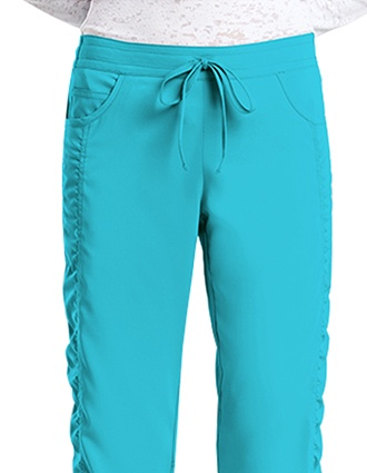 Barco KD110 Women's Five Pockets Shirred Drawstring Pant