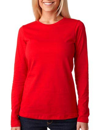 6450 Bella+Canvas Missy Long-Sleeve Crew Neck Jersey Tee-BE-6450