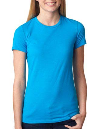 6650 Bella+Canvas Ladies' Poly/Cotton Tee-BE-6650