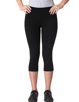 811 Bella + Canvas Ladies' Cotton Spandex Capri Legging-BE-811
