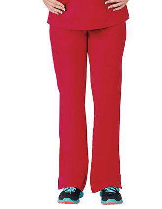 Bio Stretch Ladies Multi-Pocket Cargo Scrub Pant-BI-19202
