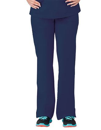 Bio Stretch Ladies Multi-Pocket Cargo Petite Scrub Pant