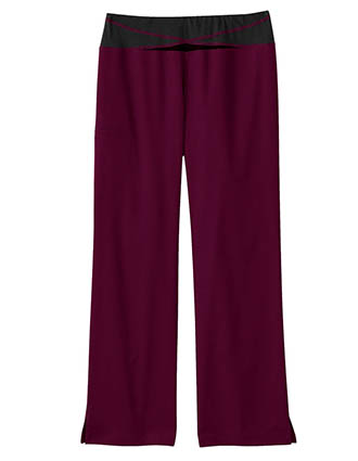 Bio Stretch Women's Knit Yoga Scrub Pants-BI-19256
