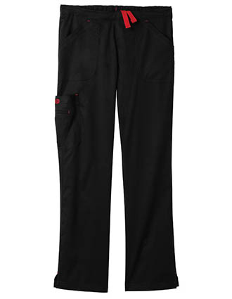 Bio Stretch Women'S Mega Pockets Cargo Tall Scrub Pants