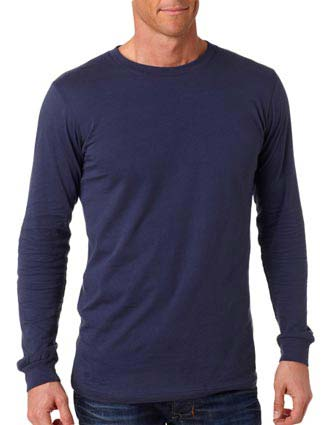 3501 Bella+Canvas Men's Long-Sleeve Jersey Tee-CA-3501