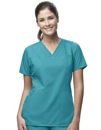 Carhartt Women 3-Pocket V-Neck Scrub Top-CA-C11102