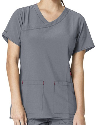 Carhartt Women's Y-Neck Fashion Top-CA-C12210