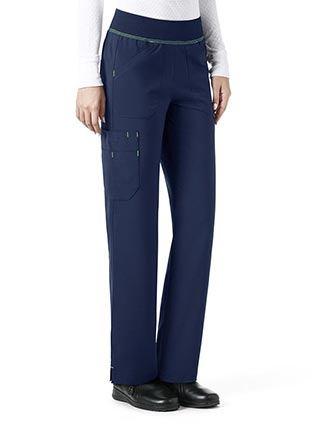 Carhartt CrossFlex Women's Straight Leg Knit Waist Cargo Petite Pant