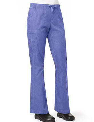 Carhartt Women's Ripstop Cargo Flare Scrub Pants-CA-C57108