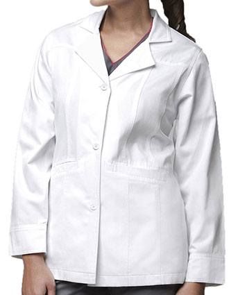 Carhartt Women Two Pocket Short Fashion White Lab Coat