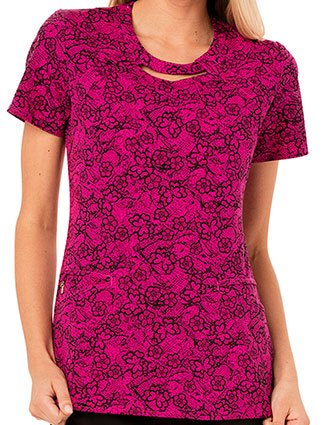 Careisma Fiercely Flawless Women's Right Lace Right Time Printed Top