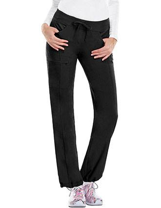 Certainty Antimicrobial Women's Low-Rise Straight Leg Drawstring Pant-CE-1123A