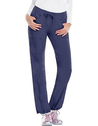 Certainty Tall Antimicrobiall Women's Low-Rise Straight Leg Drawstring Pant
