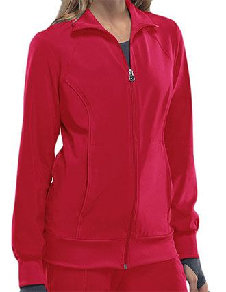 Certainty Women's Zip Front Warm-up Jacket-CE-2391A